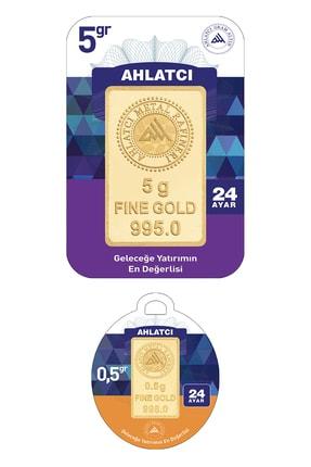 Ahlatcı 24 Ayar-5.5 Gram Külçe Altın