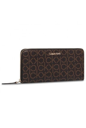 Calvin Klein Ck Mono Ziparound Wallet Lg K60k606560