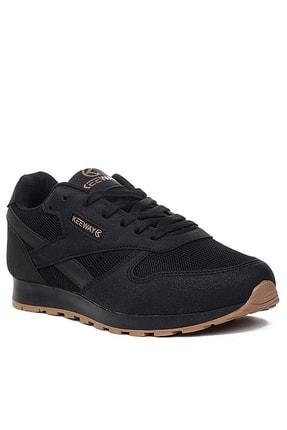 Giyyin Unisex Siyah Spor Ayakkabı Kw853201