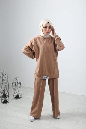 Abay Balance Ikili Eşofman Takımı - Camel