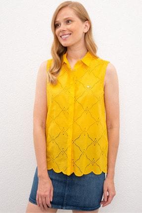 U.S. Polo Assn. Sarı Kadın Gömlek