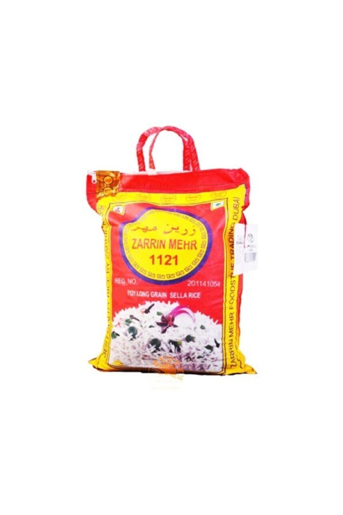 Zarrin Mehr 1121 Basmati Safran Aromalı Hint-iran Pirinç 5 Kg 1
