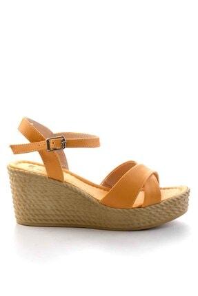 Bambi Kadın Hardal Sandalet K059360211