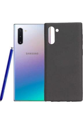 Samsung Galaxy Note 10 Plus Kılıf Klasik Mat Renkli Yumuşak Premier Silikon