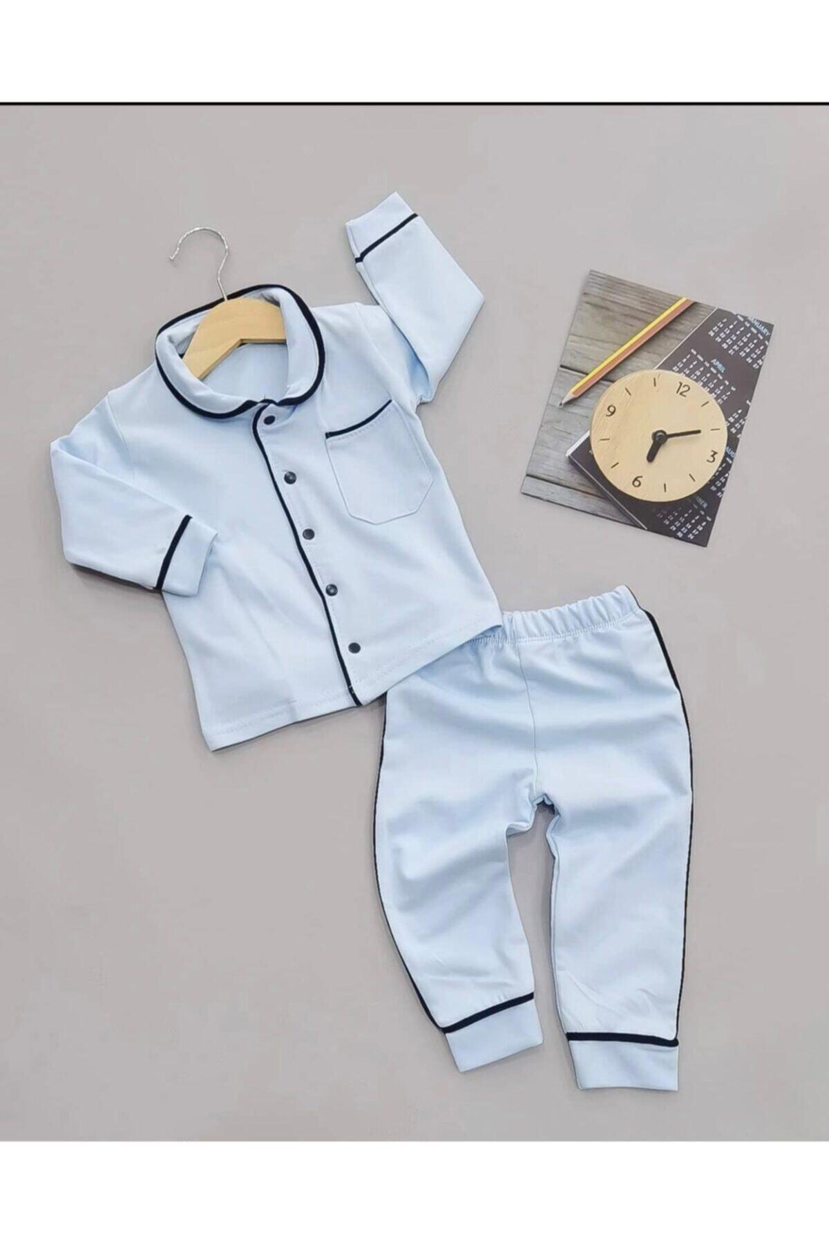 Beren Kids Şık Ve Sade Bebek Uyku Takımı 1