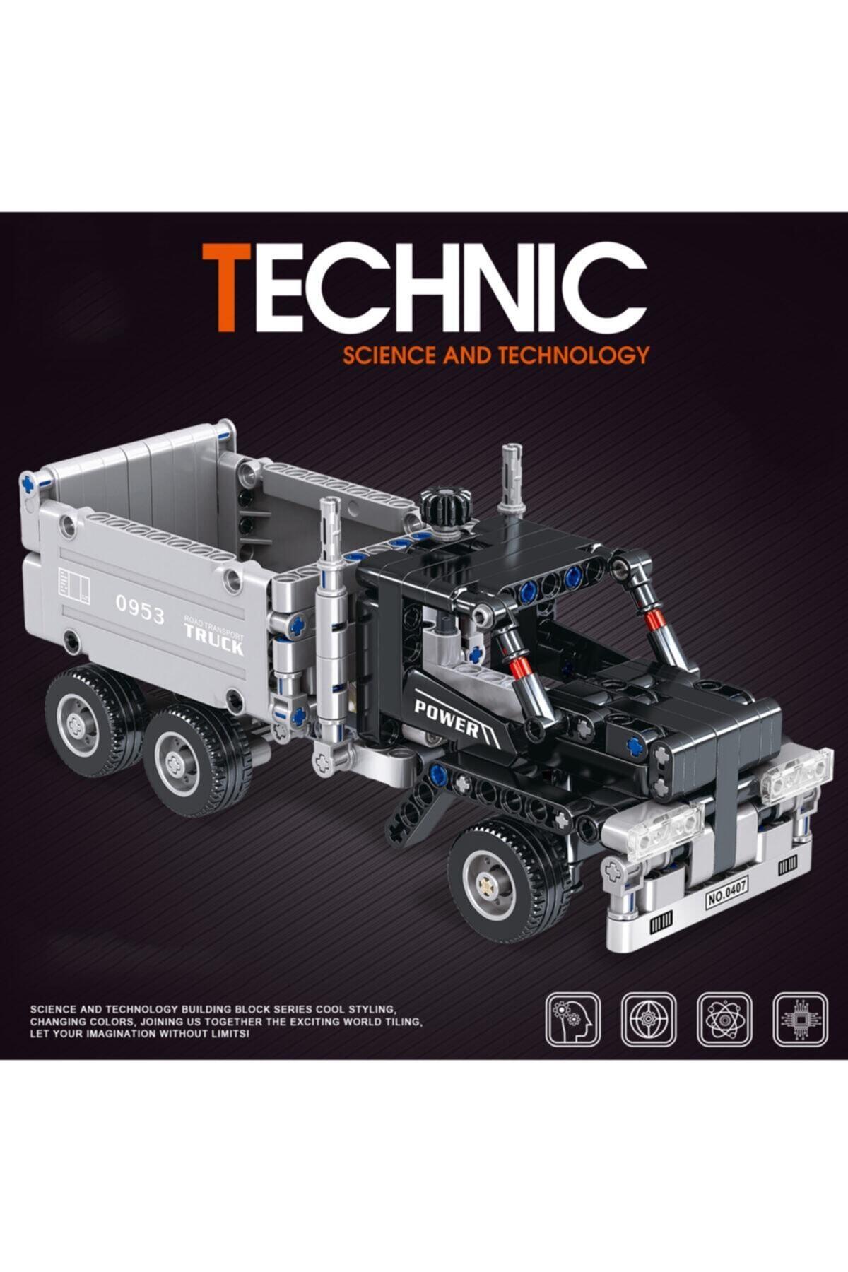 TECHNIC 322 Parça Kamyon Inşaat Iş Makinesi Power 1