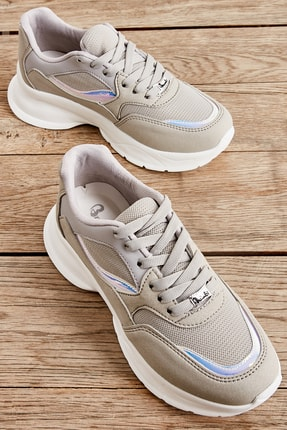 Bambi Buz Kadın Sneaker L0806068571