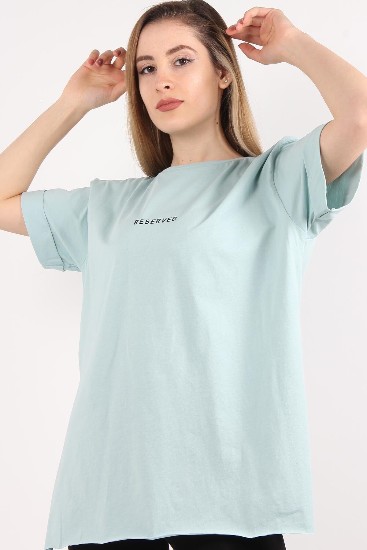 Mckanzie 1068 Reserved Baskılı T-shirt 2