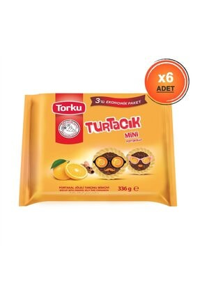 Torku Turtacık Portakallı Çoklu Paket 336 gr X6