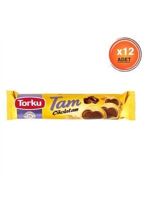 Torku Tam Çikolatam Bisküvi 83 gr X 12