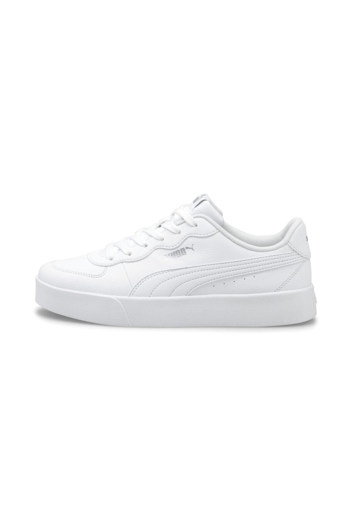 Puma SKYE CLEAN Beyaz Kadın Sneaker Ayakkabı 101085505 1