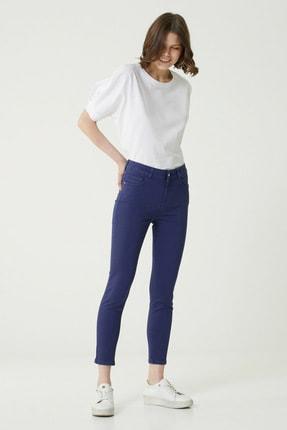 Network Kadın Basic Fit Lacivert Normal Bel Pantolon 1079240