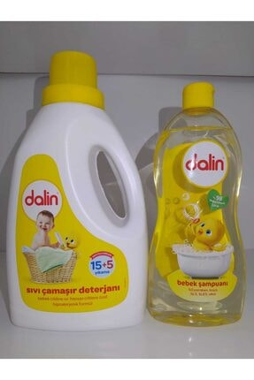 Dalin Sıvı Çamaşır Deterjanı ve Bebek Şampuanı 700 ml 1.5l