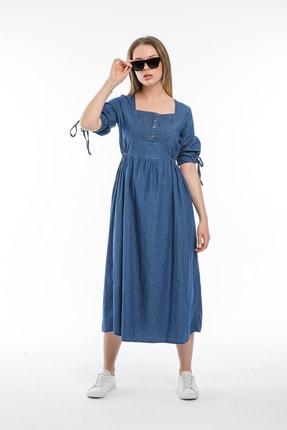 Pitti Kadın Lacivert Elbise 50995-p
