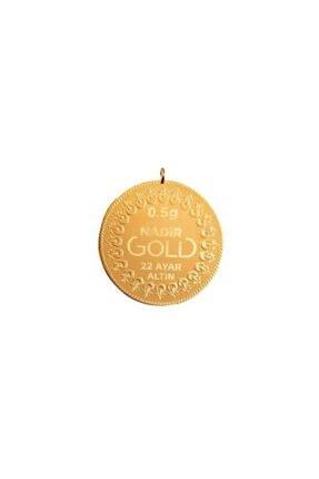 Nadir Gold Kulplu 22 Ayar 0.50 Gr Altın
