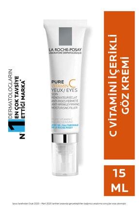 La Roche Posay Saf C Vitaminli Göz Kremi Tüm Cilt Tipleri için Işıltı Veren Bakım 15 ml 3337872413735