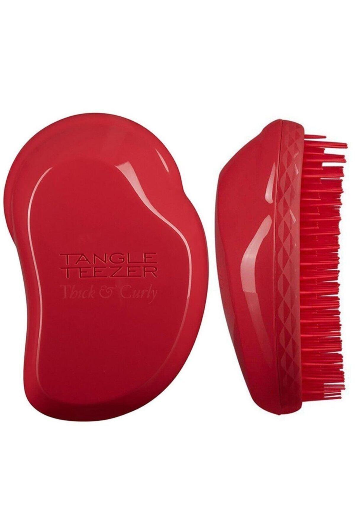 Tangle Teezer Thick & Curly Salsa Red Saç Fırçası 1