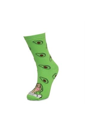 cücü socks Cucu Socks Ağlayan Kız Ve Avokado Yeşil Çorap