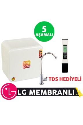 Rainbox 5 Aşamalı Su Arıtma Cihazı (beyaz) + Tds