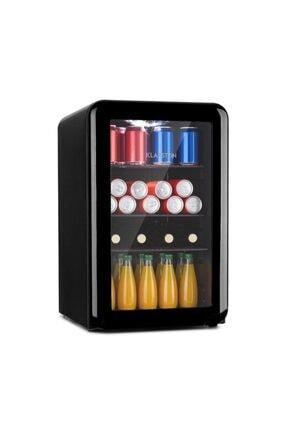 Klarstein Poplife 65l Mini Buzdolabı Cam Kapaklı Minibar Siyah