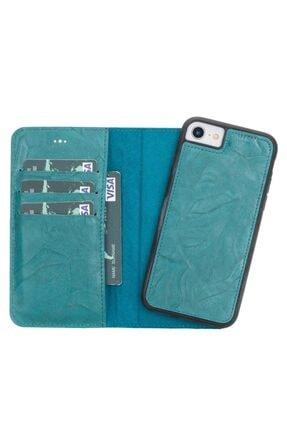 PLM Mw Deri Telefon Kılıfı Iphone 7-8 B14 Yeşil