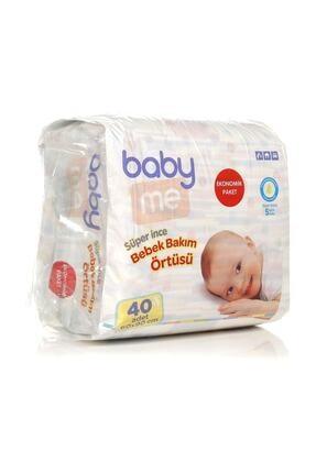 Baby&Me Süper Ince Alt Değiştirme Örtüsü 60x90 Cm 40 Adet