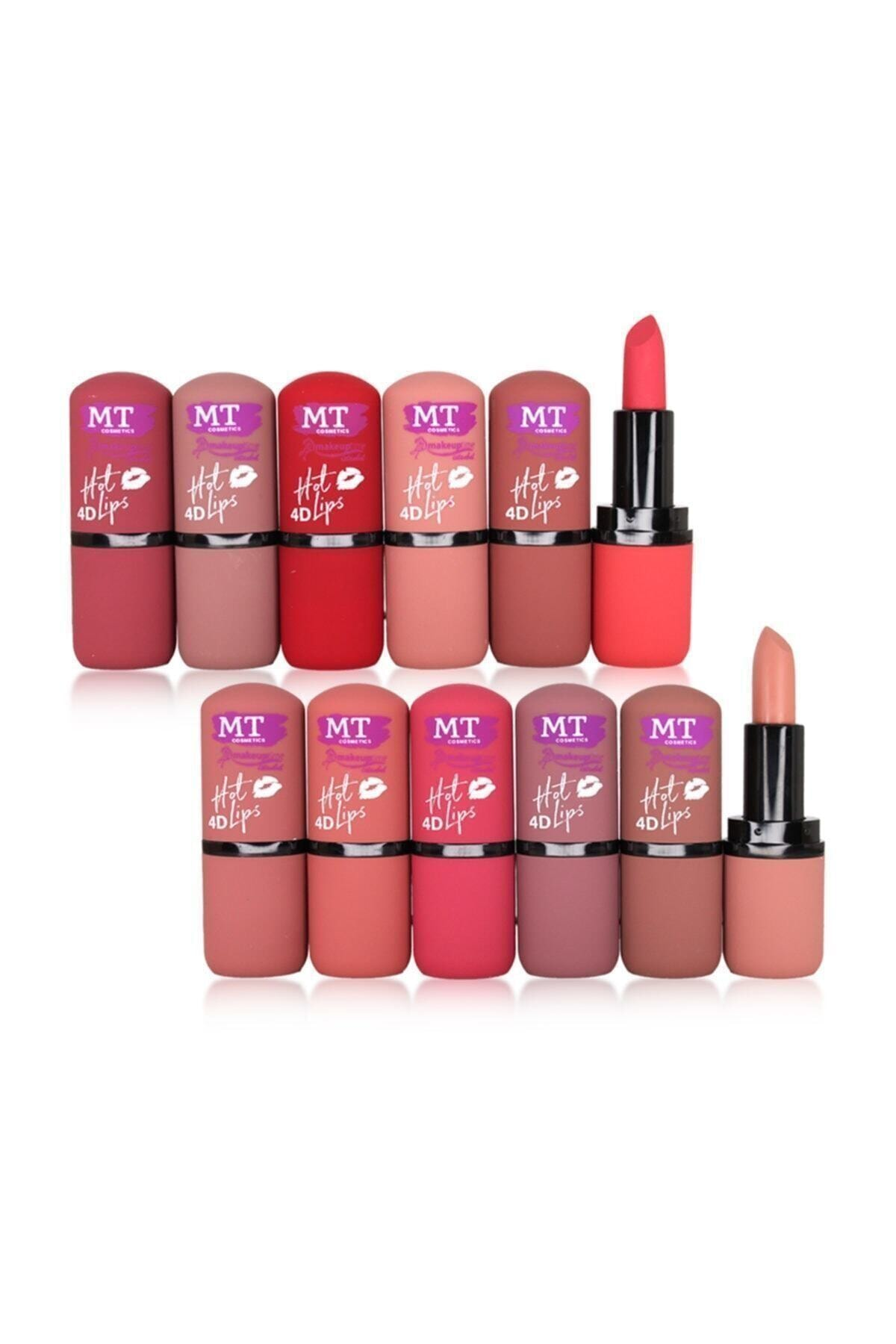 Makeuptime 4d Hot Lips 12'li Ruj Seti 1