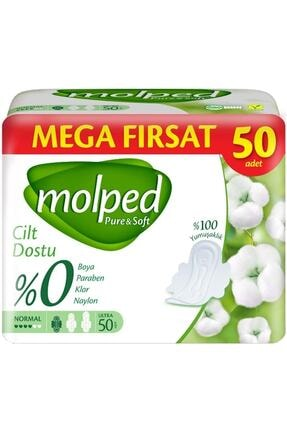 Molped Mega Fırsat Pure & Soft Normal Ped 50'li