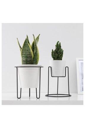 IKEA Saksılık 21 Cm Meridyendukkan Çiçeklik ,çelik , Iç -dış Mekana Uygun Saksılık