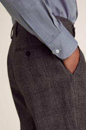 Marks & Spencer Erkek Mavi 3'Lü Uzun Kollu Gömlek Seti