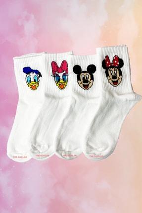 Neşeli Çoraplar Mouse Family Atletik Çorap Seti