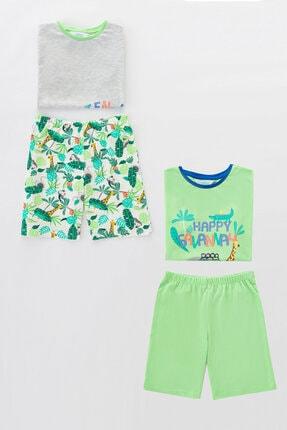 Penti Çocuk Çok Renkli Boys Adventures Ss 4lu Pijama Takımı