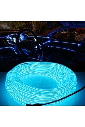 C9 Araç Içi Neon Ledi Ip Led Torpido Ledi 2 Metre Neon Led C9 Mavi