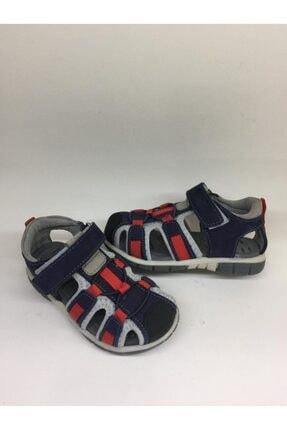 Toddler Erkek Çocuk  Lacivert Ortopedik Deri Sandalet