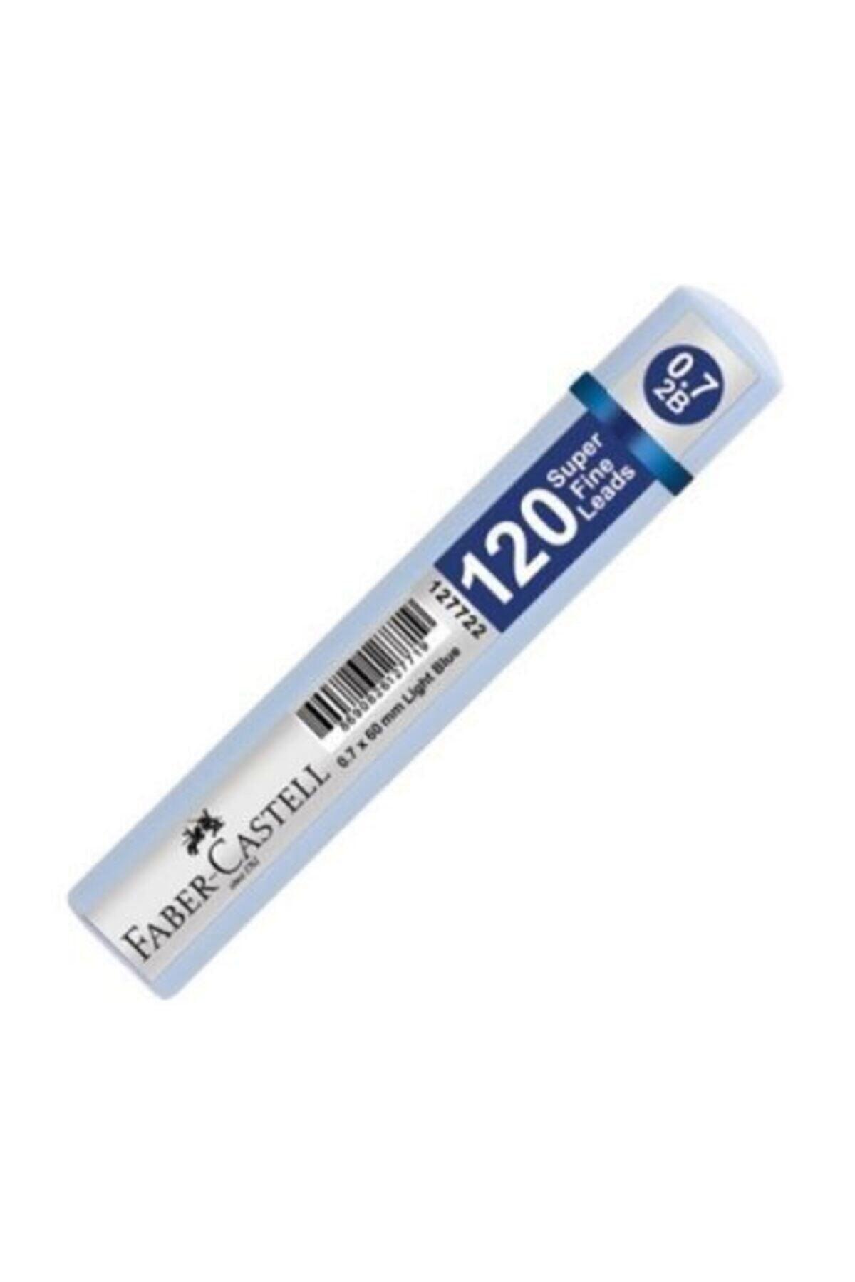 Faber Castell Grip Min 0.7 2b 60mm 120`li Mavi Tüp 1