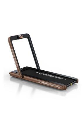 Hattrick Expert Pro 3 Hp Yeni Nesil Koşu Bandı Walkıng Pad Brown