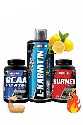 Hardline Form Kombin L-karnitin Limon 1000 mg Bcaa Atb6 Burner Yağ Yakıcı Diyet Enerji