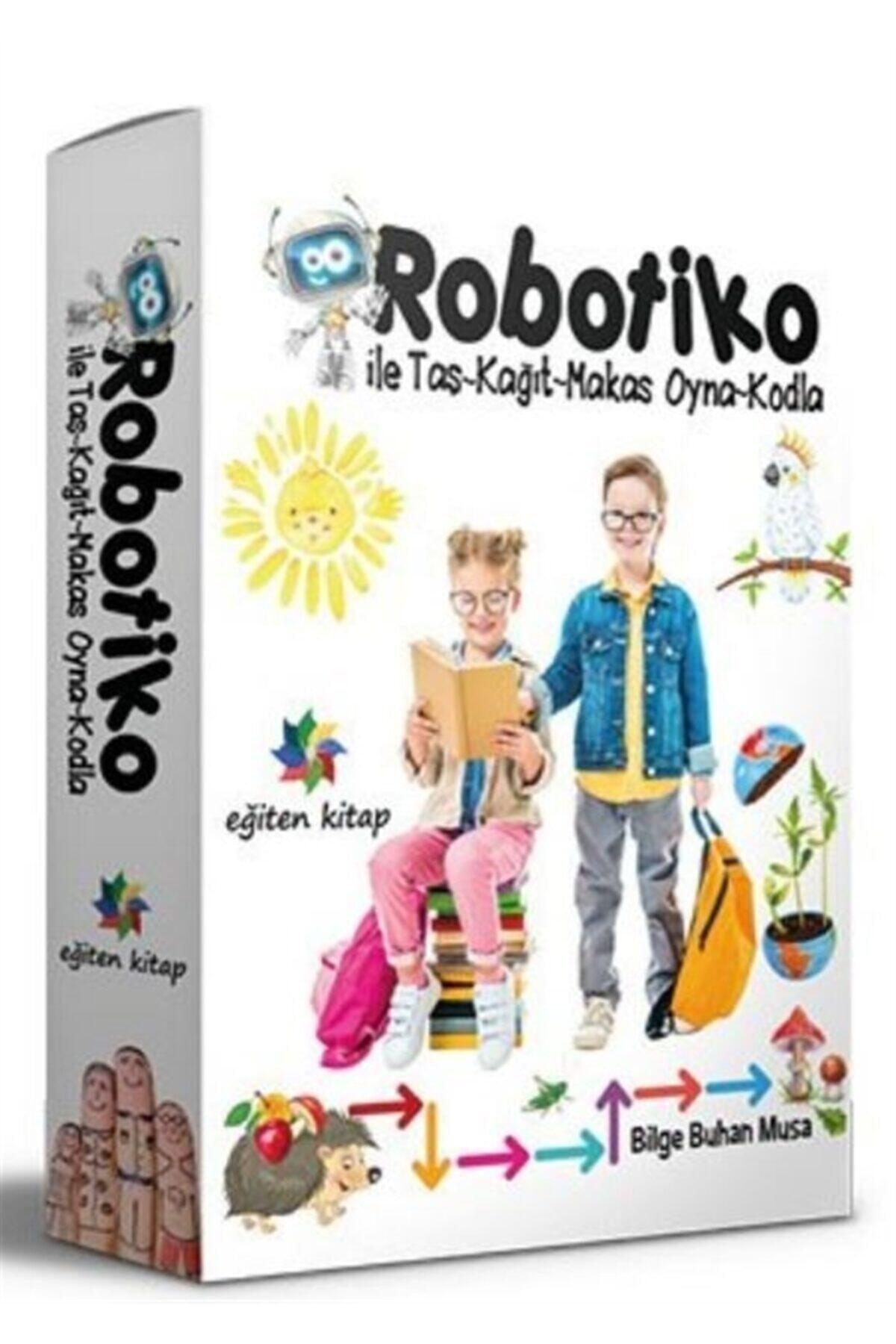 Eğiten Kitap Robotiko Ile Taş-kağıt-makas Oyna-kodla 1