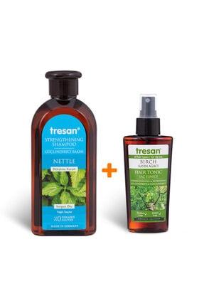 Tresan Bakım Şampuanı (YAĞLI) 300ml- Kayın Ağacı Güçlendirici Ve Canlandırıcı Saç Toniği 125 ml