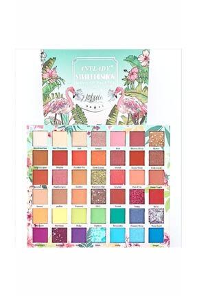 Tikatti Flamingo Holiday 42 Renkli Göz Farı Paleti 213515435T