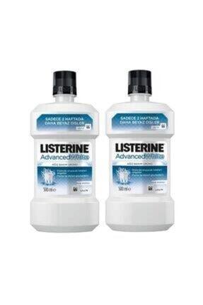 Listerine Advanced White Beyazlatıcı Gargara 500 Ml 2 Adet