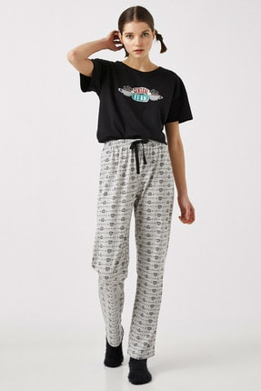 Koton Kadın Gri Pijama Takımı