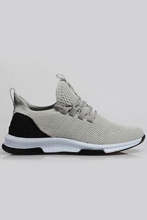 Freemax Unisex Füme Beyaz Ortopedik Spor Sneaker Ayakkabı