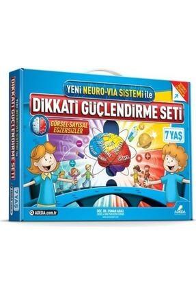 Adeda Yayınları Dikkati Güçlendirme Seti 1. Sınıf - 7 Yaş - Osman Abalı
