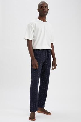 DeFacto Regular Fit Desenli Pijama Altı