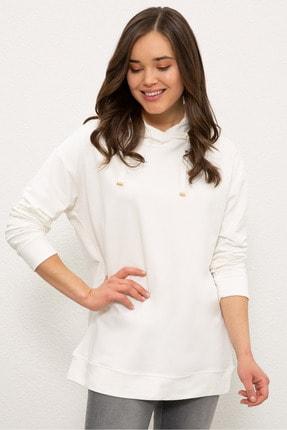 U.S. Polo Assn. Ekru Kadın Sweatshirt G082SZ082.000.1210381