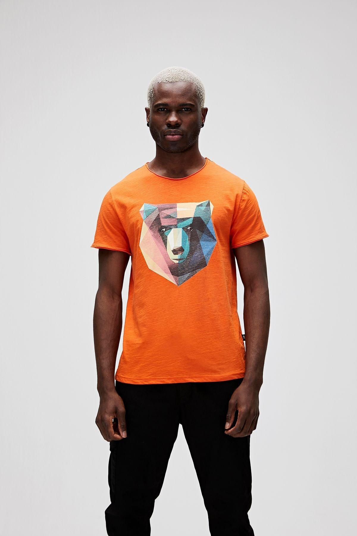 Bad Bear Erkek Baskılı Tişört 21.01.07.042 1