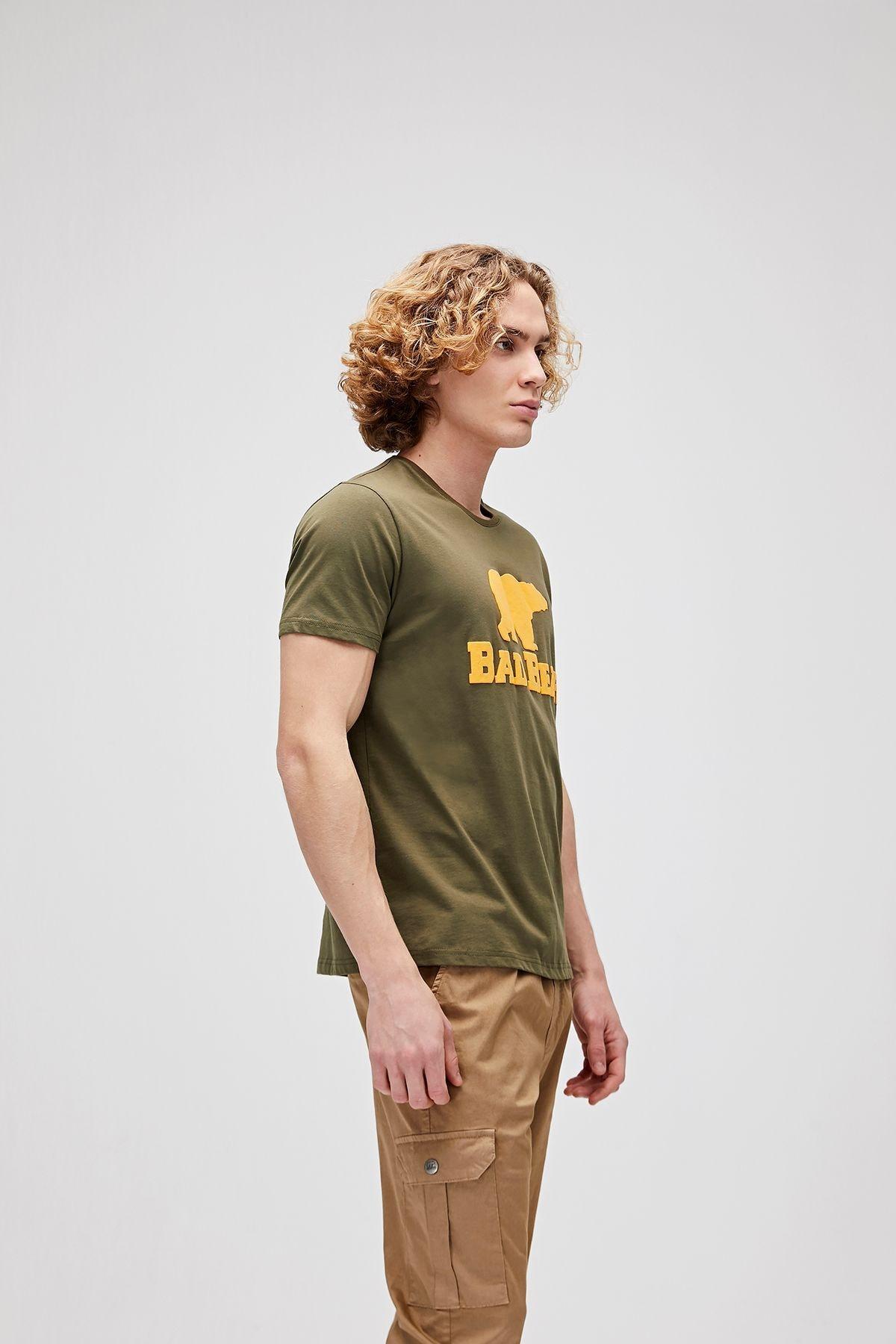 Bad Bear Haki Erkek Tişört Tee Khakı (19.01.07.002) 2