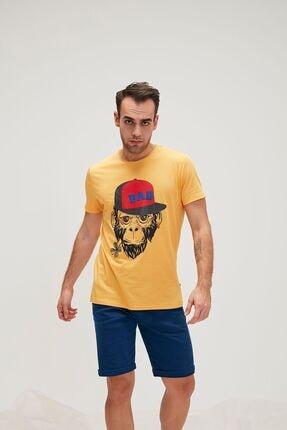Bad Bear Bad Monkey Tee Erkek T-shırt 20.01.07.018