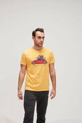 Bad Bear Erkek Sarı Trave Bear Tee Tişört